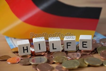 hilfe german word for help
