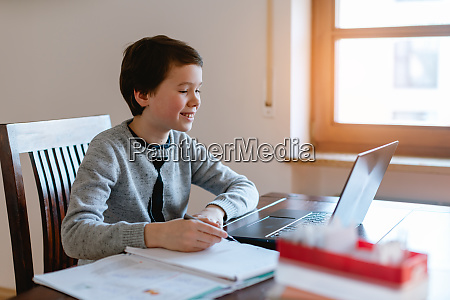 pupil learning from home during crisis