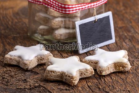 home made cinnamon stars for christmas