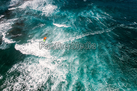 aerial view of kite beach in