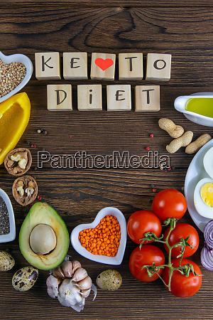 keto diet vegetables and nuts are