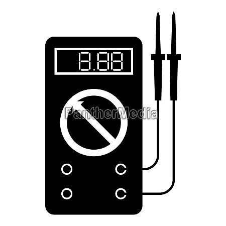 digital multimeter for measuring electrical indicators