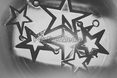 the blurred military star