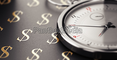 time is money saying concept