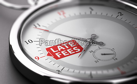 due date concept charging late fees