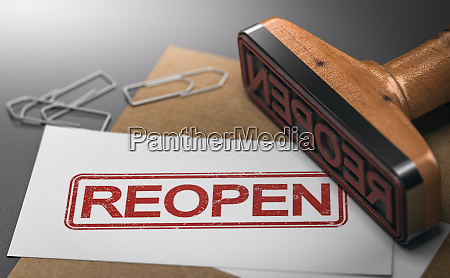 reopen closed company or commerce communication