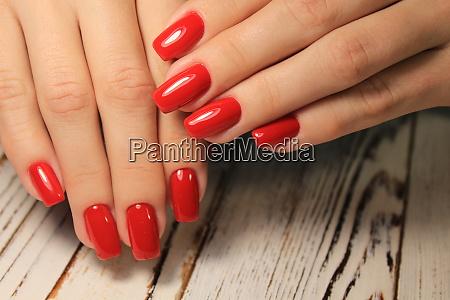 trendy manicure design