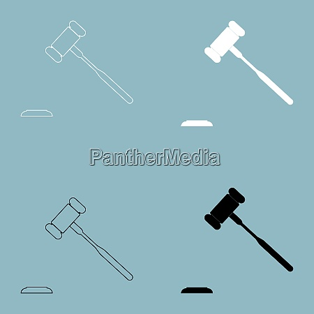 the judicial hammer the black