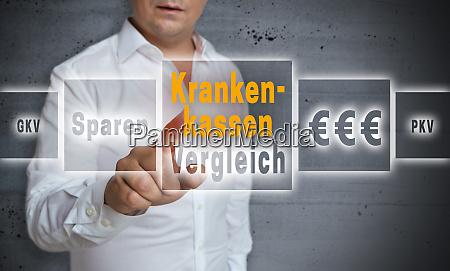 krankenkassen in german health insurance comparison