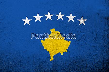 the republic of kosovo national flag