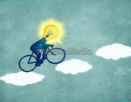 sun cyclist
