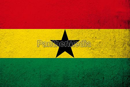 the republic of ghana national flag