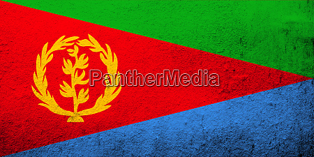 the state of eritrea national flag