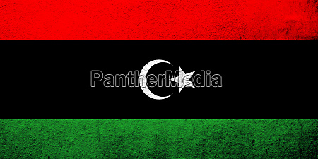 the state of libya national flag
