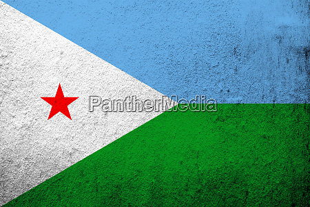 the republic of djibouti national flag