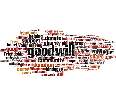goodwill word cloud