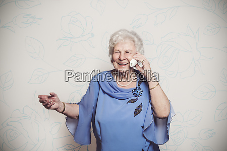 80 year old woman on the