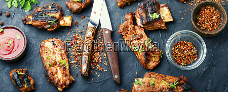 delicious fried ribs
