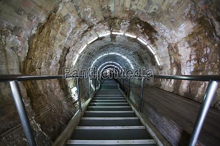 salt mine corridor