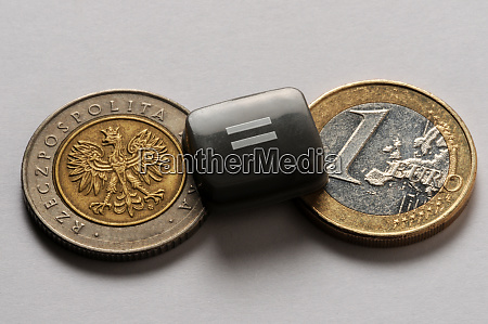 change between polish and euro currency