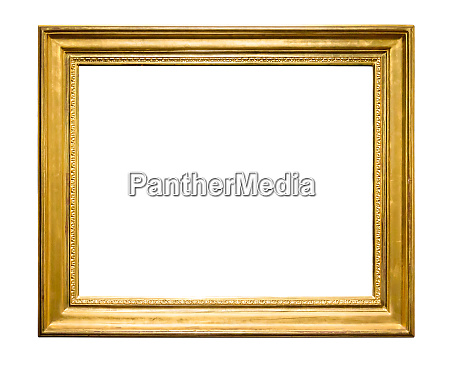 rectangle decorative golden picture frame