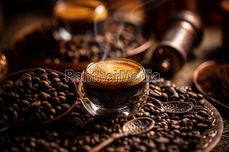 coffee brewing concept