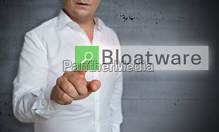 bloatware browser is operated by man