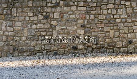 traditional mediterranean wall