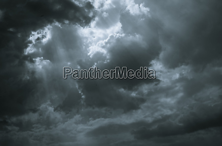 dark dramatic sky and clouds background