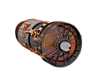 ram jet engine of a jet