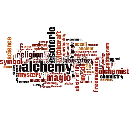 alchemy word cloud