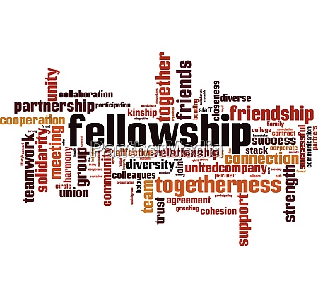 fellowship word cloud