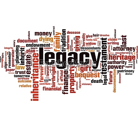 legacy word cloud