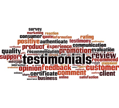 testimonials word cloud