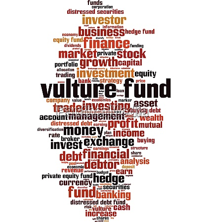 vulture fund word cloud