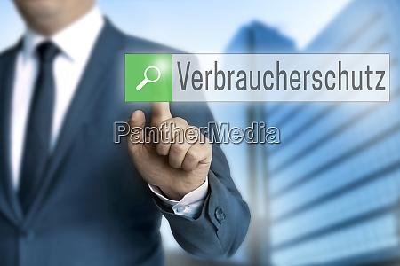 verbraucherschutz in german consumer protection browser