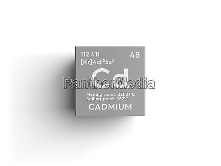 cadmium transition metals chemical element of