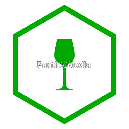 wine glass and comb