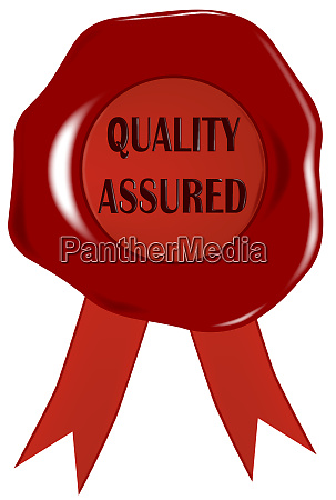 wax stamp quality assured