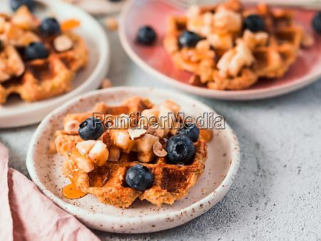 healthy gluten free oat waffles copy