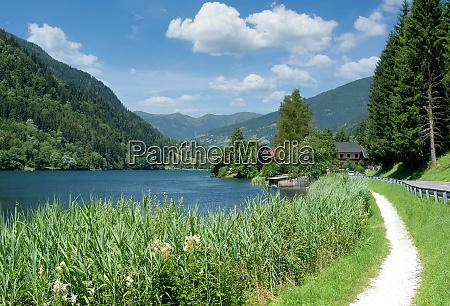 lake afritzer see carinthia austria