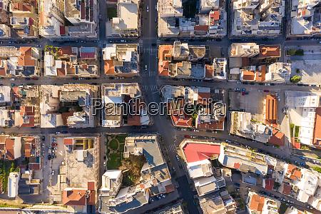 aerial view of patras greece