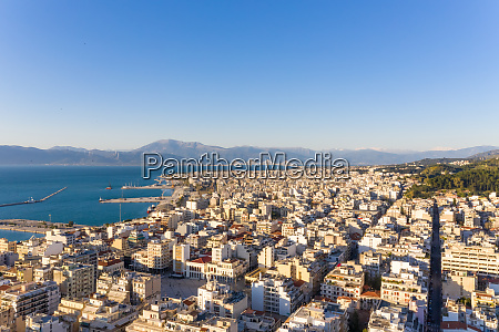 aerial view of patras greece
