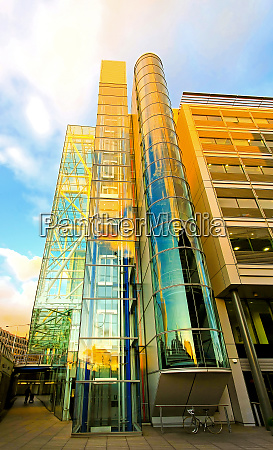 glass tower