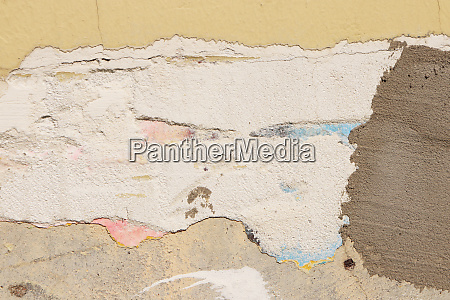 repaired cement concrete wall texture face