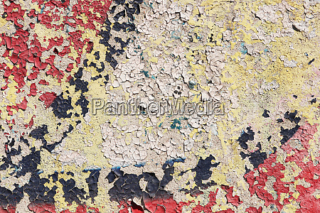 weathered graffiti wall urban street art
