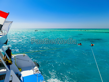 the sailboat in the red sea