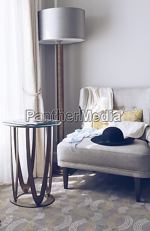 parisian styled room chic furniture and