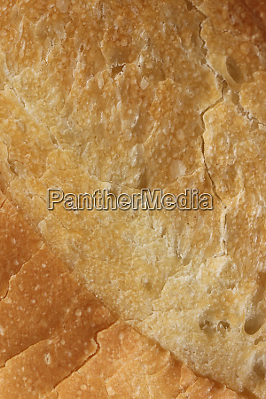 crust of bread food background macro