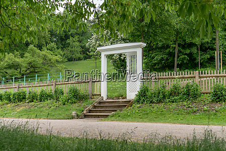 classicist garden door